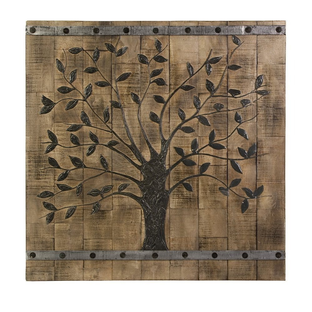 Tree Of Life Wood Wall Panel On