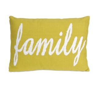 Suzie Family 14-inch Throw Pillow