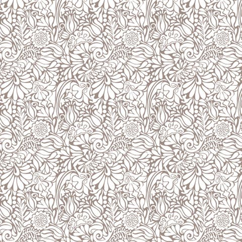 Con-Tact Brand Creative Covering Self-Adhesive Vinyl Shelf and Drawer Liner, Batik Taupe
