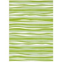 Con-Tact Brand Creative Covering Self-Adhesive Vinyl Shelf and Drawer Liner, Wave Lime