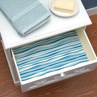 Con-Tact Brand Creative Covering Self-Adhesive Shelf and Drawer Liner Wave Marina