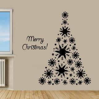 Merry Christmas Sticker Wall Art