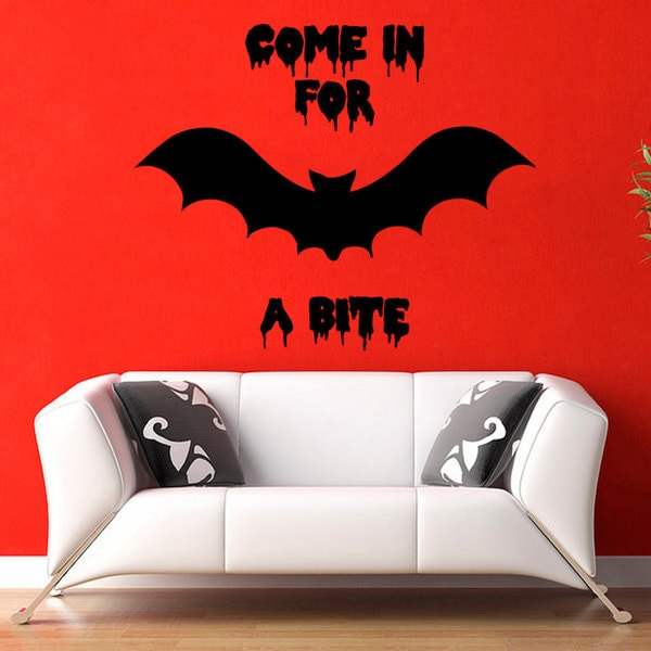 Bats Vinyl Sticker Wall Art Free Shipping On Orders Over 45 10165560