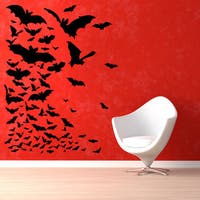 Bats Halloween Vinyl Sticker Wall Art