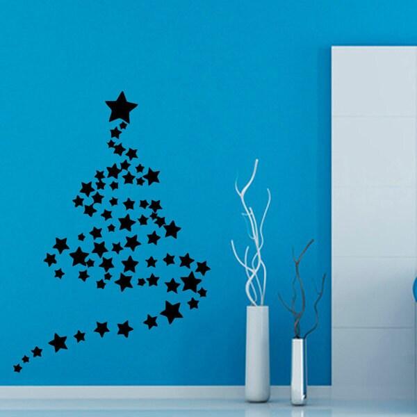 Christmas Tree Sticker Wall Art