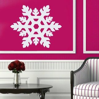 Snowflake Vinyl Sticker Wall Art