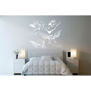 Angels Cupids Vinyl Sticker Wall Art