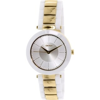 DKNY Women's Stanhope NY2289 White Ceramic Quartz Watch