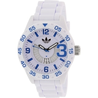 Adidas Men's Newburgh ADH3012 White Silicone Quartz Watch