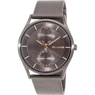 Skagen Men's Holst SKW6180 Black Stainless Steel Quartz Watch