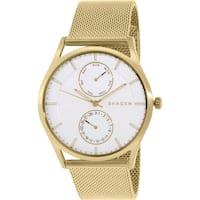 Skagen Men's Holst SKW6173 Goldtone Stainless Steel Quartz Watch