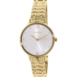Skagen Women's Anita SKW2322 Goldtone Stainless Steel Quartz Watch