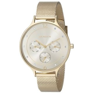 Skagen Women's Anita SKW2313 Goldtone Stainless Steel Quartz Watch