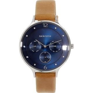 Skagen Women's Anita SKW2310 Blue Leather Quartz Watch