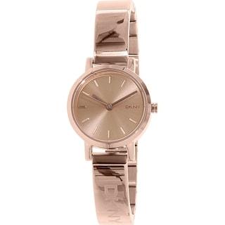 DKNY Women's Soho NY2308 Rose-goldtone Stainless Steel Quartz Watch