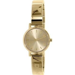 DKNY Women's Soho NY2307 Goldtone Stainless Steel Quartz Watch
