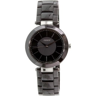 DKNY Women's Stanhope NY2292 Black Ceramic Quartz Watch