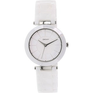 DKNY Women's Stanhope NY2291 White Ceramic Quartz Watch