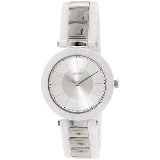 DKNY Women's Stanhope NY2288 White Ceramic Quartz Watch
