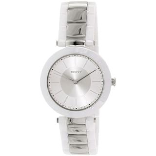 DKNY Women's Stanhope NY2288 White Ceramic Quartz Watch