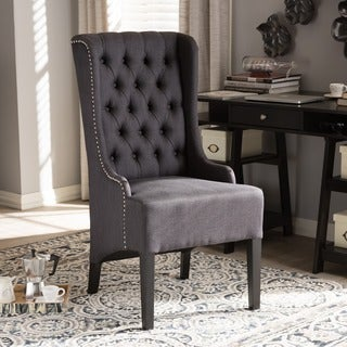 Red Velvet High Back Chair Free Shipping Today