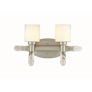 Lite Source Glamis 2-light Vanity Wall Lamp