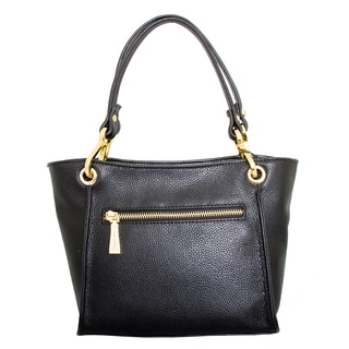 Leatherbay Italian Leather Siena Shoulder Bag
