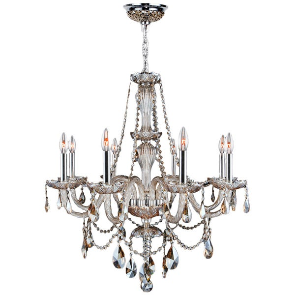 Love The Wall Finishes Chandelier And The Overall Tuscan: Shop Venetian Italian Style 8-light Chrome Finish And