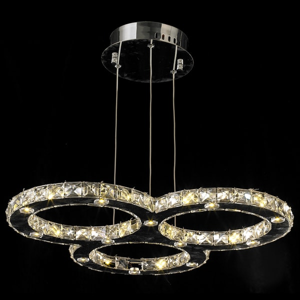 Galaxy Light Crystal Single Ring Chandelier