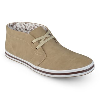 Vance Co. Men's Lace-up Casual High-top Shoes