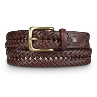 Tommy Hilfiger Men's Braided Dress Belt