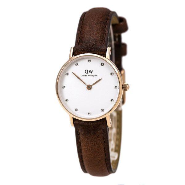 467b6429d901a Daniel Wellington Women  x27 s Classy St. Andrews 0900DW White Leather  Quartz Watch