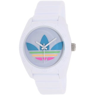 Adidas Men's Santiago ADH2916 White Silicone Quartz Watch
