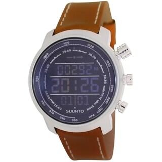 Suunto Men's Elementum SS018733000 Digital Leather Quartz Watch