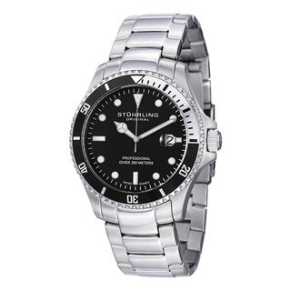 Stuhrling Original Men's Regatta Elite Swiss Quartz Stainless Steel Bracelet Watch