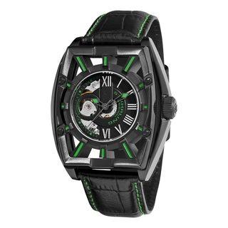 Stuhrling Original Men's Millennia Expo Automatic Stainless Steel Bracelet Watch