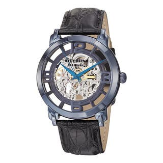 Stuhrling Original Men's Winchester Grand Automatic Stainless Steel Bracelet Watch|https://ak1.ostkcdn.com/images/products/10167348/P17295438.jpg?impolicy=medium