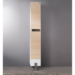 Fresca Adour Light Walnut Bathroom Linen Side Cabinet