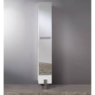 Fresca Adour Mirrored Bathroom Linen Side Cabinet|https://ak1.ostkcdn.com/images/products/10167406/P17295514.jpg?impolicy=medium