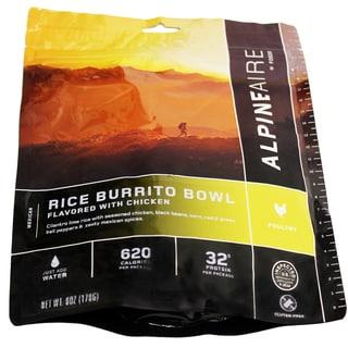 Alpine Aire Foods Chicken & Rice Burrito Bowl Serves 2