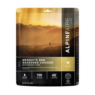 Alpine Aire Foods Mesquite BBQ Chicken w/Beans & Rice Serves 2