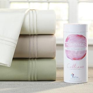 PureCare Luxurious SuperSoft Celliant Healing/ Energy Sateen 4-piece Sheet Set