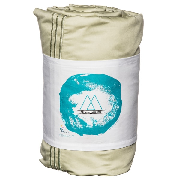 PureCare Elements Premium SeaCell/ Cotton 400 Thread Count Deep Pocket Sheet Set
