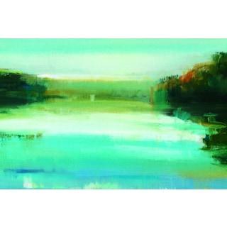 Portfolio Canvas Decor Elinor Luna 'Shimmer' Framed Canvas Wall Art