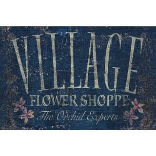 Portfolio Canvas Decor IHD Studio 'Vintage Signs - Flower Shoppe 3' Framed Canvas Wall Art