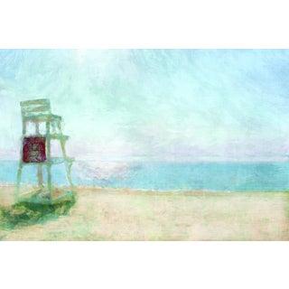 Portfolio Canvas Decor Noah Bay 'Beach Lookout' Framed Canvas Wall Art