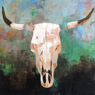 Portfolio Canvas Decor Madelaine Morris 'True West I' Framed Canvas Wall Art