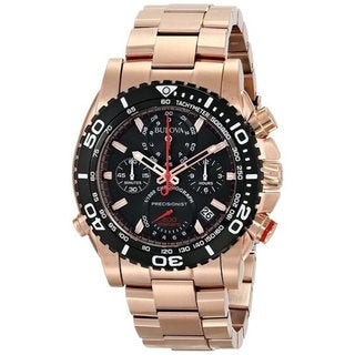 Link to Bulova Men's Rose Goldtone Stainless Steel Quartz Watch Similar Items in Men's Watches