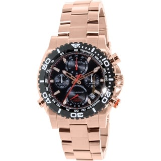 Bulova Men's Rose Goldtone Stainless Steel Quartz Watch