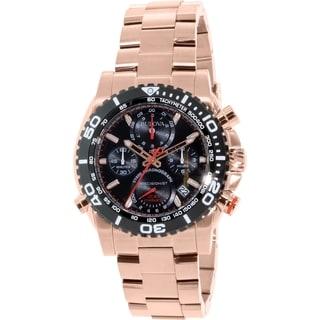 Bulova Men's Rose Goldtone Stainless Steel Quartz Watch